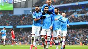 Bảng xếp hạng Ngoại hạng Anh: Man City tiếp tục bỏ xa MU và nhóm bám đuổi
