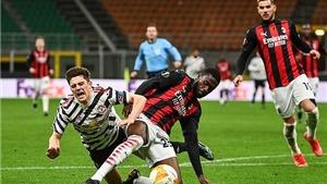 Kết quả Milan vs MU. Kết quả lượt về vòng 1/8 Europa League