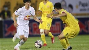 Bảng xếp hạng V-League 2021 vòng 11: Liệu Thanh Hóa có quật ngã được HAGL?