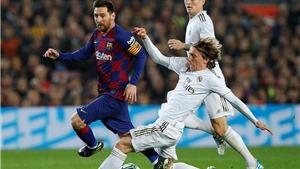 Kết quả bóng đá Tây Ban Nha vòng 30: Real Madrid vs Barcelona