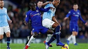 Trực tiếp chung kết cúp C1: Man City - Chelsea. K+, K+PM trực tiếp bóng đá
