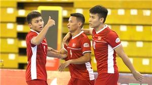 Trực tiếp bóng đá Futsal: Việt Nam - Lebanon (22h00 hôm nay). Lượt về Play-off World Cup