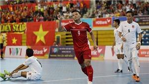 Kết quả lượt về play-off futsal World Cup 2021: Việt Nam vs Lebanon