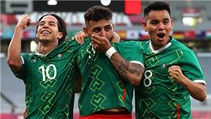 Video U23 Mexico vs Brazil, Olympic 2021: Clip bàn thắng highlights