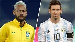 Kết quả bóng đá chung kết Copa America 2021: Brazil vs Argentina