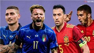 Đội hình dự kiến trận Ý vs Tây Ban Nha: Dấu hỏi nơi hành lang trái của Ý
