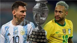 Đội hình thi đấu trận Brazil vs Argentina: Messi đấu súng với Neymar