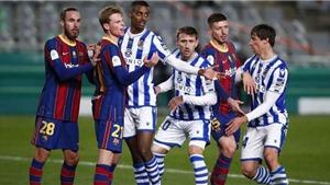 VIDEO Barcelona vs Real Sociedad, La Liga vòng 1: Clip bàn thắng highlights
