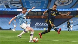 Đội hình thi đấuMan City vs Arsenal: Grealish đọ súng cùng Aubameyang
