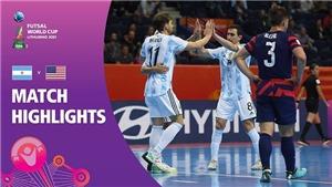 VTV6 TRỰC TIẾP bóng đá Nga vsArgentina, Futsal World Cup 2021 (23h30, 26/9)
