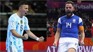 Kết quả Futsal World Cup 2021 - Kết quả Futsal thế giới 2021 vòng bán kết