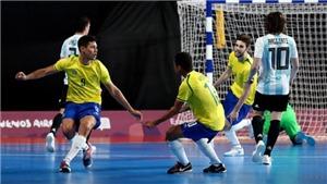 VTV6 TRỰC TIẾP bóng đá Brazil vs Argentina, Futsal World Cup 2021 (00h00, 30/9)