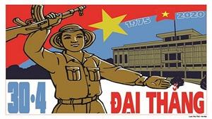 Nhân 45 năm Thống nhất đất nước: Tổ chức triển lãm tranh cổ động tấm lớn tại Bắc Giang