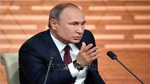 Tổng thống Nga Putin họp báo cuối năm: 'Cáo buộc chống lại ông Trump là 'bịa đặt'