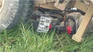 Thanh Hóa: Tai nạn giao thông làm 2 người chết và một người bị thương nặng
