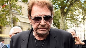 Tượng đài nhạc rock châu Âu Johnny Hallyday qua đời