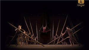 Biểu diễn liên tục xiếc tre 'Làng tôi' tại Hà Nội