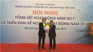 Trung tâm tác quyền Âm nhạc Việt Nam thu hơn 83 tỷ đồng trong năm 2017