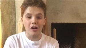 VIDEO: Bất ngờ trước giọng hát được ví như 'tiểu Justin Bieber' của con trai David Beckham