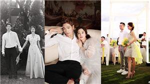 Những đám cưới của năm: Cặp đôi 'Ngôi nhà hạnh phúc' rủ nhau kết hôn, Miranda Kerr làm đám cưới trong vườn