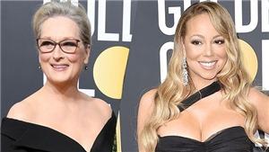 Meryl Streep 'dằn mặt' Mariah Carey đã 'cướp ghế' tại Quả Cầu Vàng