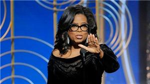 VIDEO: Xem bài phát biểu truyền cảm hứng khiến dân Mỹ kêu gọi Oprah Winfrey tranh cử Tổng thống