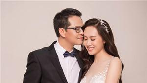 NSND Trung Hiếu U50 tình tứ bên vợ sắp cưới kém 19 tuổi trong bộ ảnh cưới