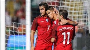 Sau Ronaldo, tuyển Bồ Đào Nha thắp tương lai với dòng họ Silva