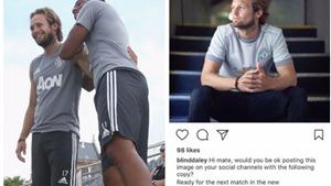 Daley Blind gặp sự cố trên mạng xã hội vì lỗi copy paste ngớ ngẩn