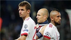 Bayern Munich hỗn loạn, Robben công khai bật, Ancelotti bị sa thải