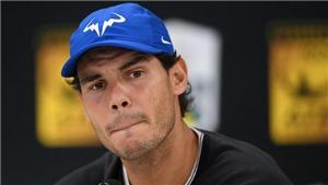 TENNIS ngày 4/11: Nadal bỏ cuộc ở Paris Masters, có thể lỡ luôn ATP Finals. 'Sharapova sẽ vào Top 10 năm 2018'