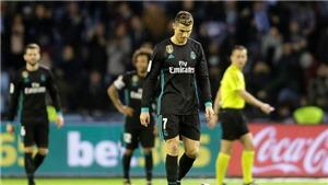 Ronaldo đá tệ nhất nhì trận hoà Celta Vigo, đáng nhận điểm 0/10