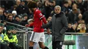 Fellaini đá 7 phút, chấn thương nghỉ 2 tháng, Mourinho nói gì?