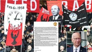60 năm thảm hoạ Munich: Xúc động tâm thư Sir Bobby Charlton gửi các ngôi sao M.U
