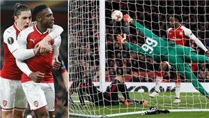 Vòng 1/8 Europa League: Arsenal, Lazio đi tiếp; Atletico đại thắng 5 'sao'