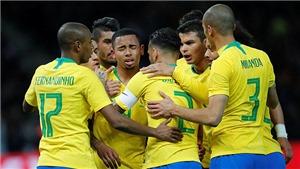 Đức 0-1 Brazil: Gabriel Jesus sắm vai người hùng