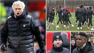CẬP NHẬT tối 29/3: Mourinho họp khẩn vì Pogba. Messi chưa biết ngày trở lại