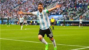 CẬP NHẬT sáng 26/6: Messi tạo cột mốc tại World Cup 2018. Maradona phải cấp cứu sau chiến thắng của Argentina
