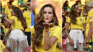 Thiên thần Victoria's Secret ăn mừng cùng Brazil trong ngày bạn trai ở tuyển Đức bị loại
