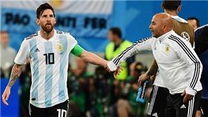 CẬP NHẬT sáng 30/6: Sampaoli lên tiếng vụ bị Messi chỉ đạo. Real tiếp tinh thần cho Ronaldo. Fellaini gia hạn với M.U