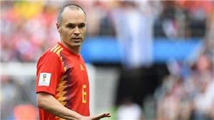 Iniesta giã từ sự nghiệp quốc tế: Tiki-taka của Tây Ban Nha đã 'chết'