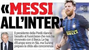SỐC! Inter được hỗ trợ tài chính để mua Messi, đua tranh với Juventus của Ronaldo