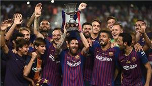 CẬP NHẬT sáng 13/8: Messi phá kỷ lục của Iniesta. Neymar toả sáng, Lewandowski lập hat-trick