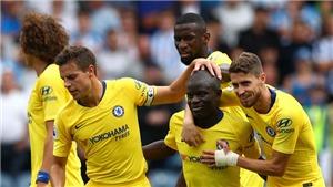 Hàng tiền vệ Chelsea: Kante được nâng cấp nhờ Sarri