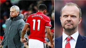 CHUYỂN NHƯỢNG 22/8: Martial bất ngờ đổi ý, Mourinho phát điên. M.U ra phán quyết vụ Varane. Man City đón tân binh