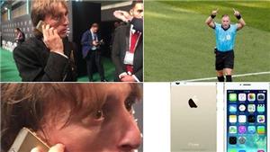Người hâm mộ bất ngờ vì Modric lương 10 triệu euro/năm vẫn dùng iPhone 5s