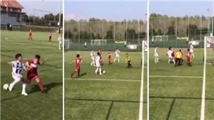 Con trai Ronaldo đi bóng 'hay hơn cả Messi', 'đến bố cũng phải ghen tỵ'