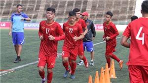 U22 Việt Nam với lực lượng mạnh nhất sẵn sàng đánh bại U22 Philippines