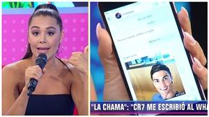 Ronaldo lộ tin nhắn WhatsApp ve vãn, đòi 'cắn' vòng 3 người mẫu Venezuela