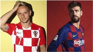 Barca ra mắt áo kẻ caro lạ mắt, bị chỉ trích thiết kế áo đấu chỉ để 'tri ân' Rakitic